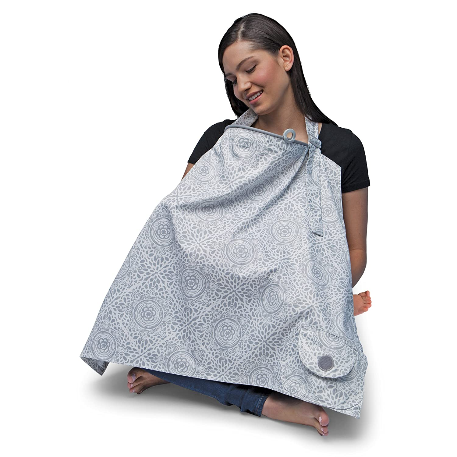 Boppy Nursing Cover, Boho/Gray 5600109K 6PK