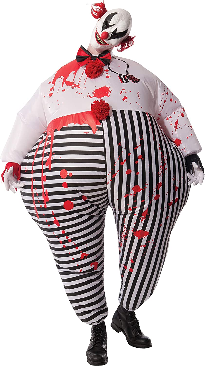 Rubie's Costume Co Men's Inflatable Evil Clown Costume