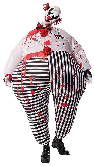 Rubiess Disfraz de Payaso de Terror de Halloween, Hinchable, para ...