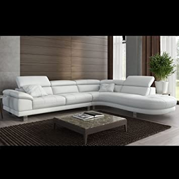 Designer eckcouch leder  Designer Eckcouch Ecksofa Ledersofa Leder Couch Sofagarnitur ...