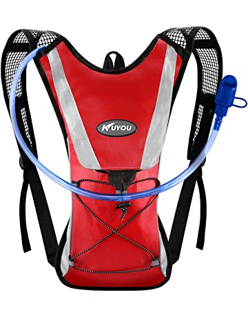 7928683fde8 KUYOU Hydration Pack,Water Backpack with 2L Water Bladder Perfect for  Running Cycling Hiking Climbing