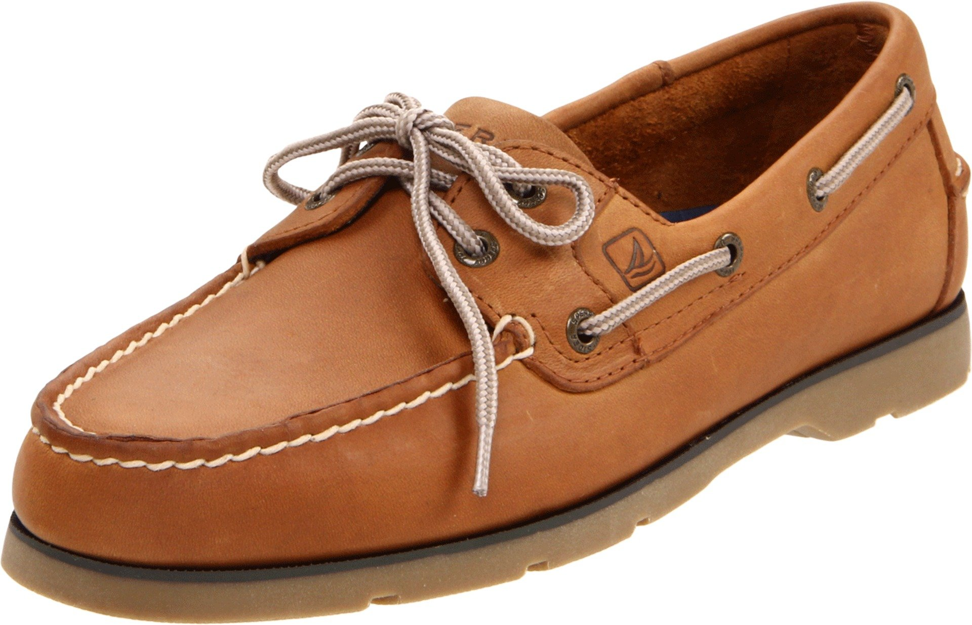 Sperry Top-Sider Men's Leeward Boat Shoe, Sahara, 9 Wide US