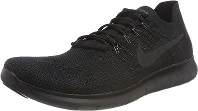 Nike Free RN Flyknit 2017, Zapatillas de Running para Hombre, Negro (Black/Anthracite 013), 47.5 EU: Amazon.es: Zapatos y complementos