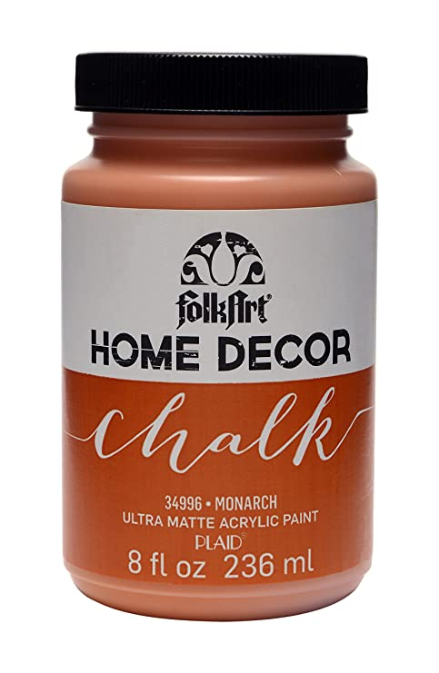 FolkArt Home Decor Chalk Furniture & Craft Paint in Assorted Colors (8 Ounce),
