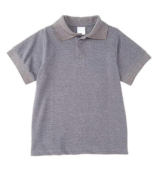 iGirldress Girls School Uniform Polo Shirt Short Sleeve