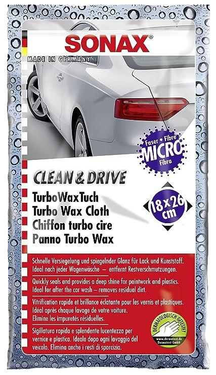 SONAX 04140000 Clean & Drive Turbo Wax Toalla