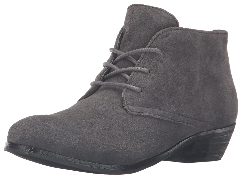 SoftWalk Women's Ramsey Boot B019QMIZC2 10 B(M) US|Dark Grey Suede