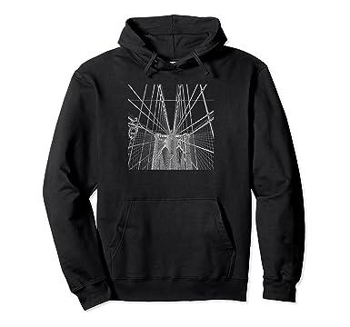 fa7c87d31 Amazon.com: Brooklyn Bridge Hoodie Sweatshirt: Clothing