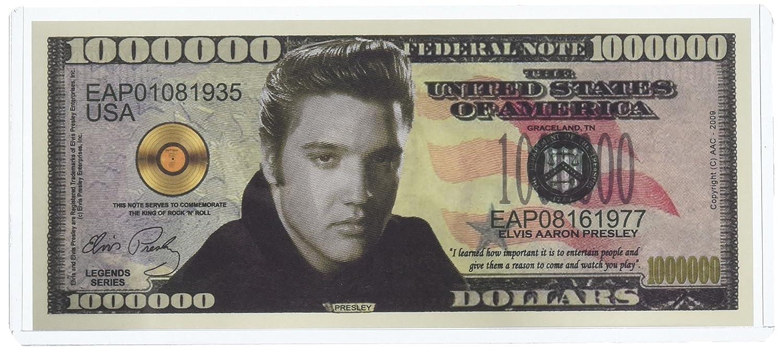 A Blue Christmas with ELVIS PRESLEY Music ~ $1,000,000 One Million Dollar Bill