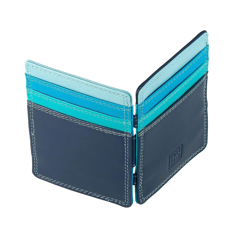 DUDU Cartera Hombre Magica Magic Wallet de Piel Multicolor ...