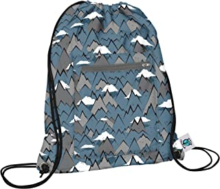 product image for Planet Wise Drawstring Sports Bag 2.0, Summit, Made in the USA