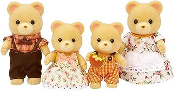 5215 La famille panda roux Sylvanian Families