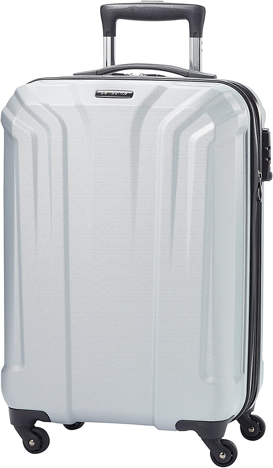 Samsonite OPTO-PC 20 carry-on spinner silver