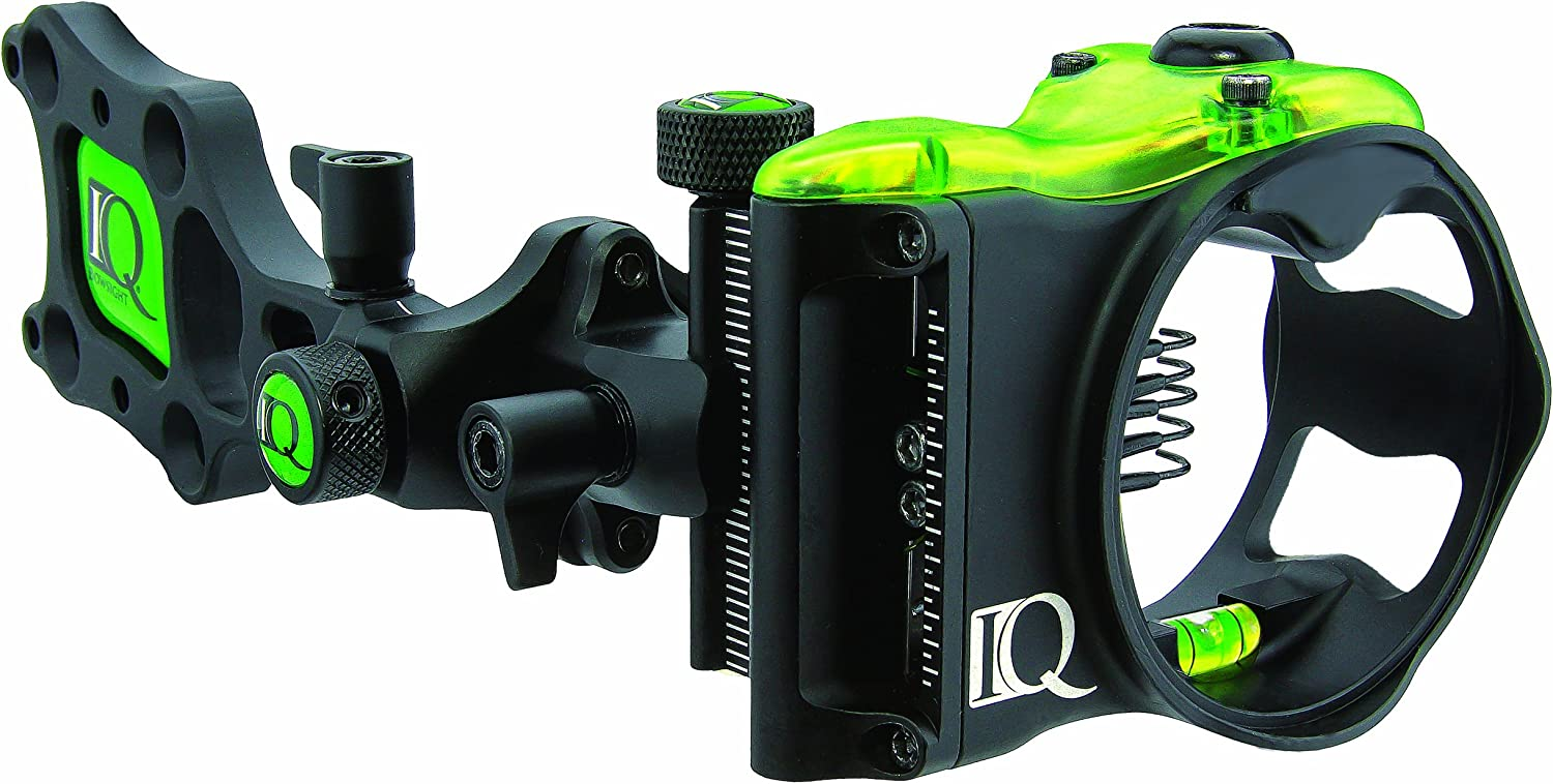 IQ Bow sights 5-Pin Micro Bow sight- Best Bow Sight for Older Eyes