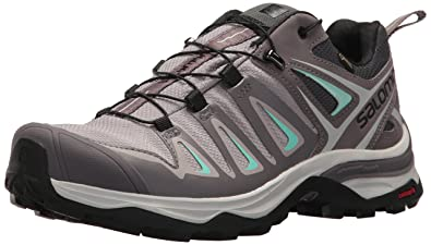Salomon Womens X Ultra 3 GTX Trail Running Shoe Magnet 5 ...