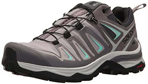 Salomon Womens X Ultra 3 GTX Trail Running Shoe, Magnet, ...