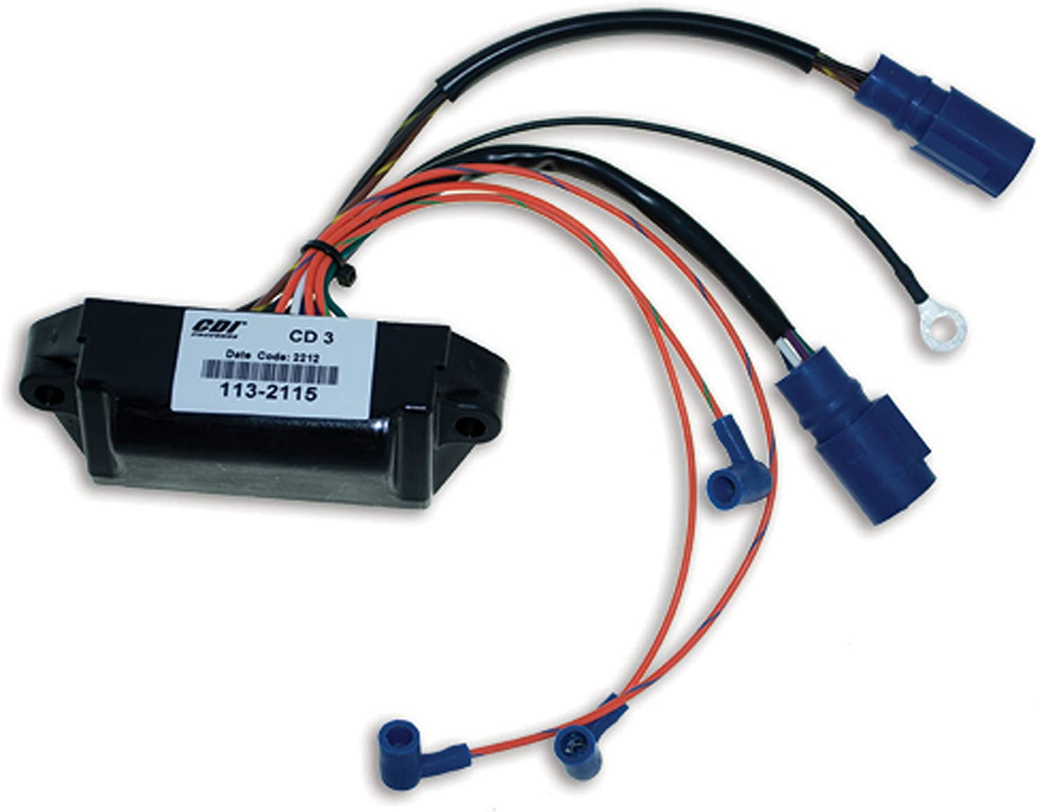 CDI Electronics 113-3110 Johnson//Evinrude Power Pack-4 Cyl 1986-1987