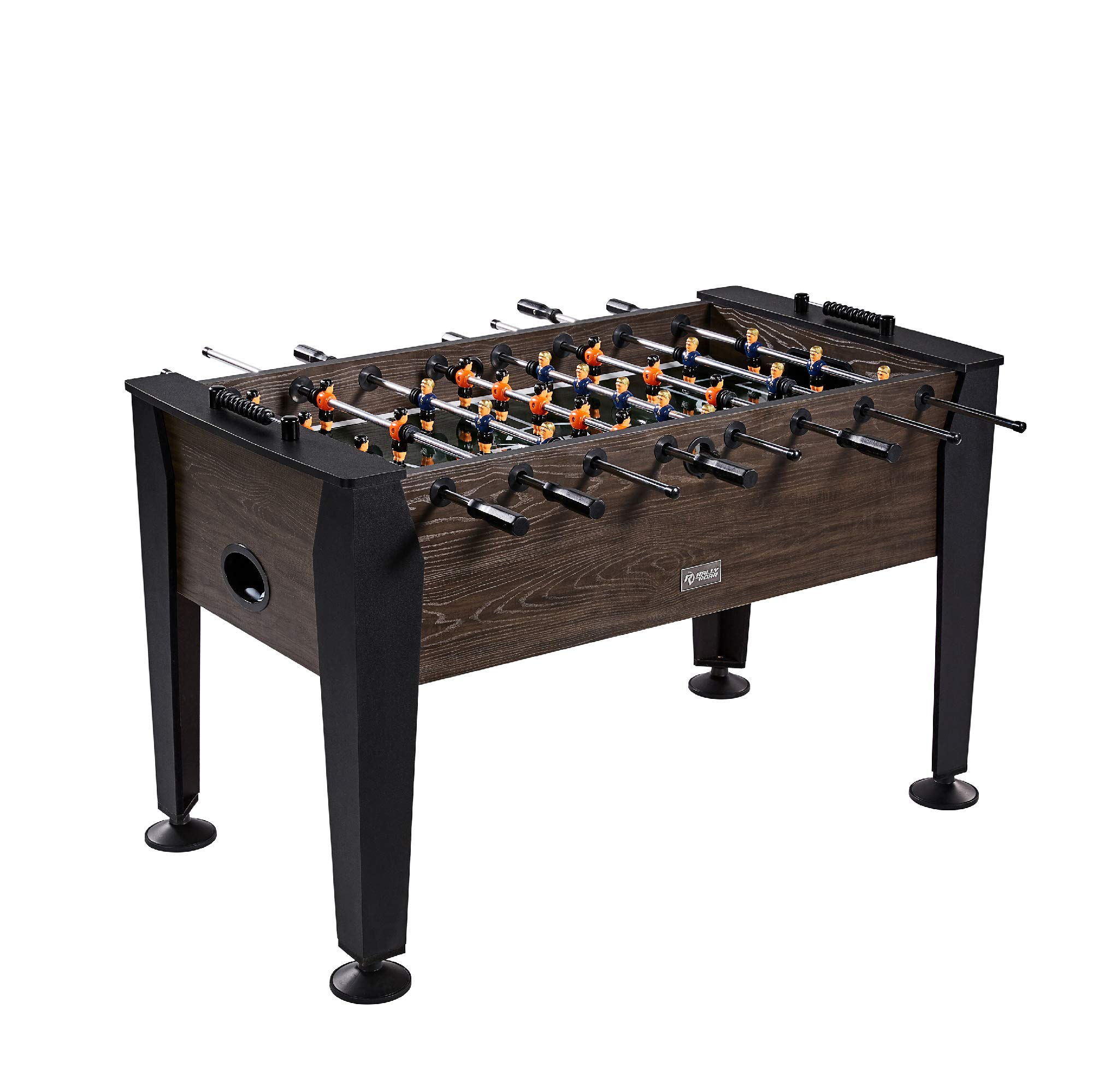 Rally and Roar Foosball Table Game - 56'' Standard Size Fun, Multi Person Table Soccer Adults, Families - Recreational Foosball Games Game Rooms, Arcades, Bars, Parties, Family Night by Rally and Roar