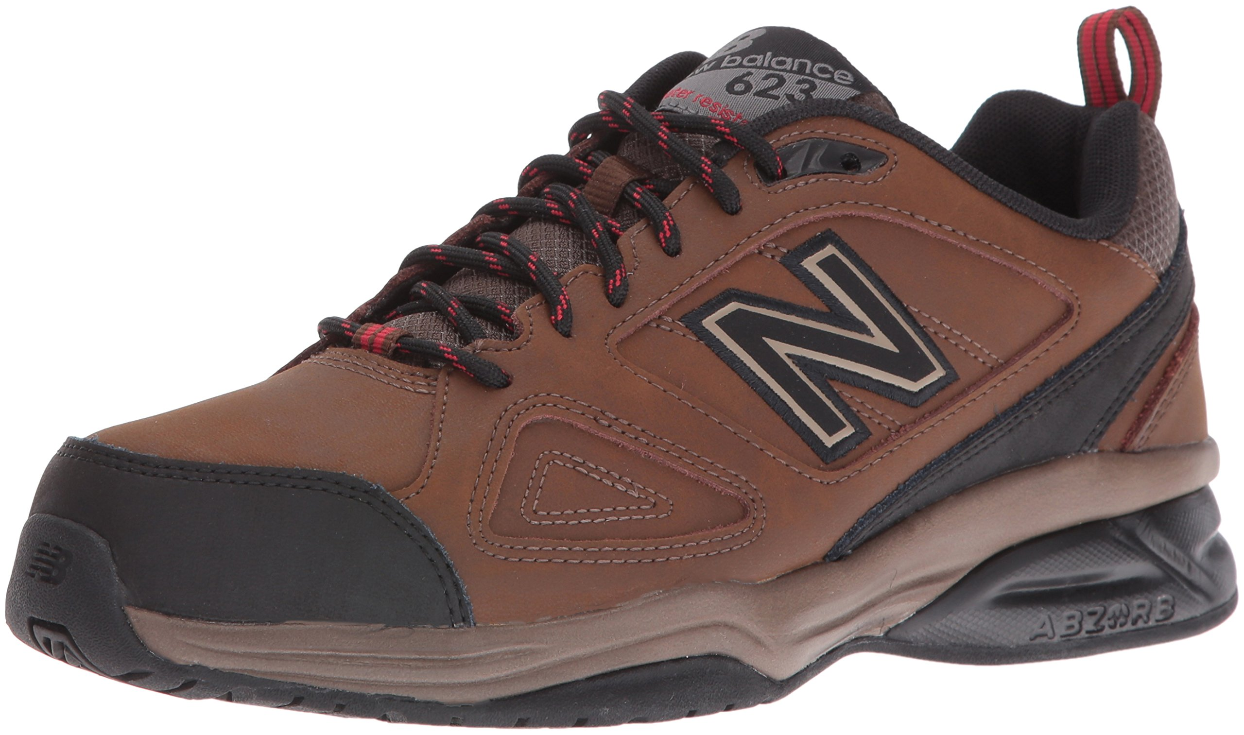 New Balance Men's MX623v3 Training Shoe, Brown, 7.5 D US