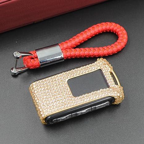 Amazon.com: missblue vidrio hecho a mano – carcasa de llave ...
