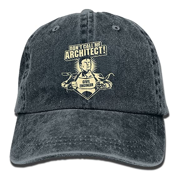 Don t Call Me Architect Civil Engineer Adult Retro Adjustable Cowboy Cap   Amazon.ca  Clothing   Accessories c2ecef485