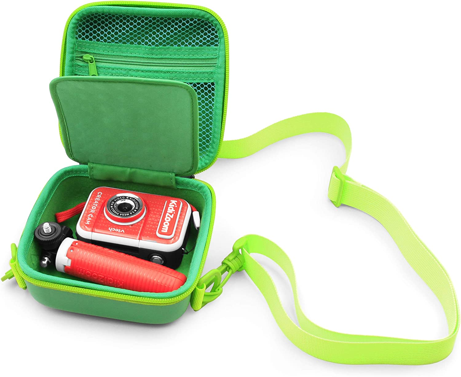 CASEMATIX Kids Toy Camera Case Compatible with VTech Kidizoom Creator Cam Video Camera for Kids and Vtech Kidizoom Camera Accessories Includes Case Only
