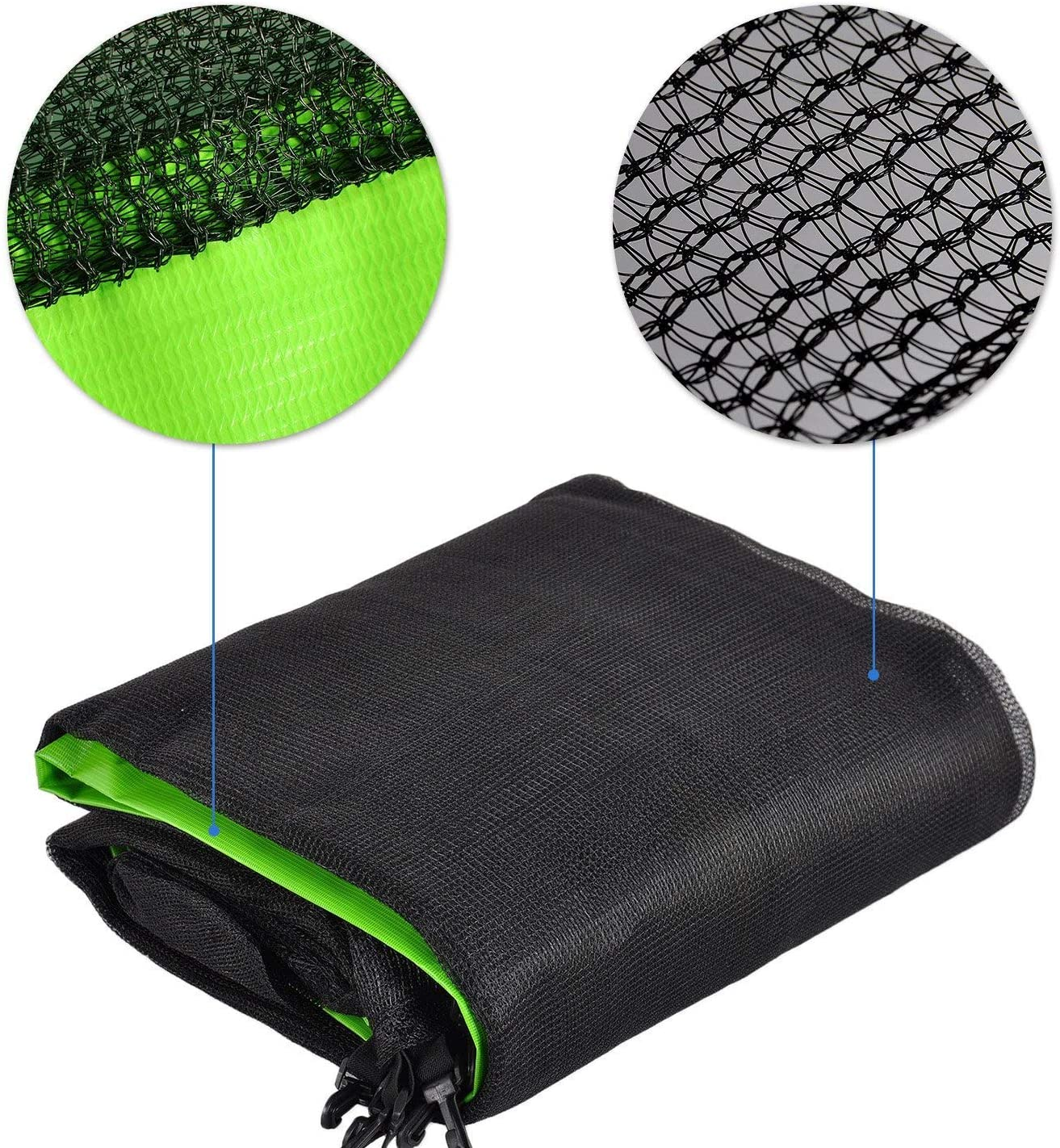 ULTRAPOWER SPORTS Trampoline with Safety Enclosure Netting and Ladder Jumping Mat Rain Cover 8ft//10ft//12ft