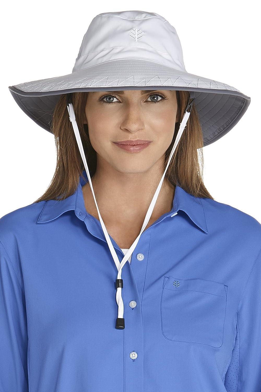 Coolibar Damen Chlorine Resistant Bucket Hut UV Schutzfaktor 50 Plus