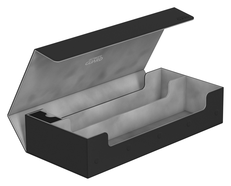 Ultimate Guard UGD010867 Superhive 550 Plus XenoSkin Card Case, Black