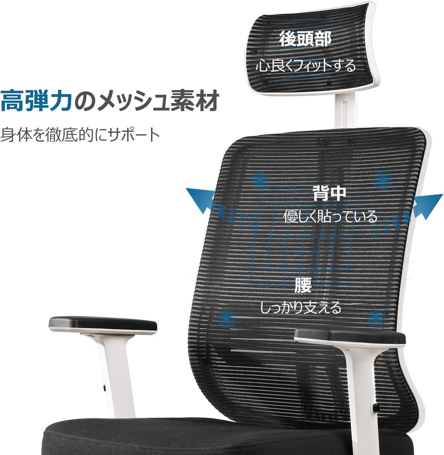 オフィスチェア,メッシュ,椅子,デスクチェア,テレワーク,在宅勤務,心地いい椅子