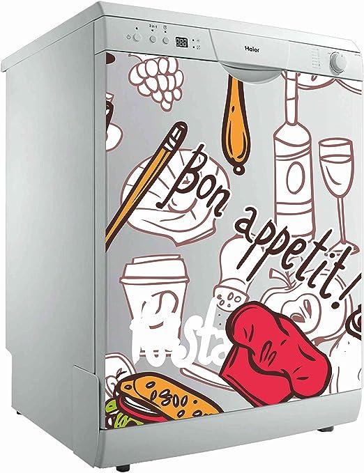 Vinilo para Lavavajillas Bon Appetit ¡   Varias Medidas 50x48cm ...