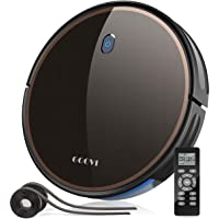 GOOVI Robot Vacuum, 2000Pa Robotic Vacuum Cleaner (Slim) Max Suction, Quiet Multiple Cleaning Modes, Self-Charging…