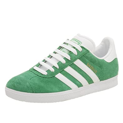 4192ef891 Adidas Men's Gazelle 2 Suede Soccer Shoe, Fairway/Wht/Aloe, 5.5 M ...