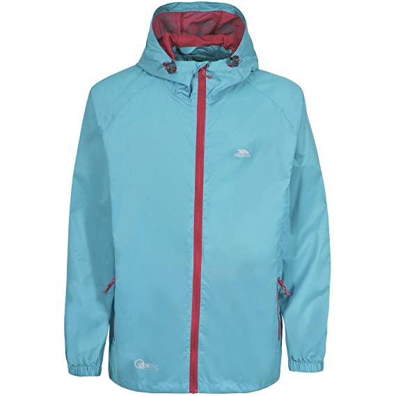 f55b43257 Trespass Adults Unisex Qikpac Packaway Waterproof Jacket: Amazon.co.uk:  Clothing