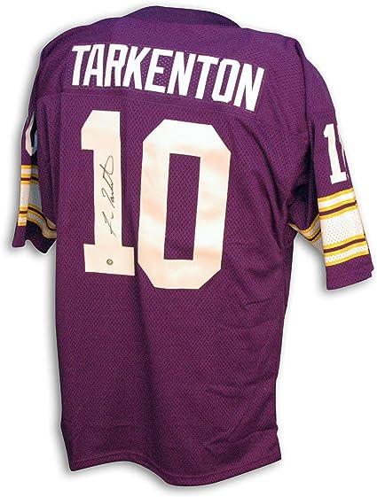 Amazon.com: Fran Tarkenton Jersey - Minnesota Vikings Throwback ...