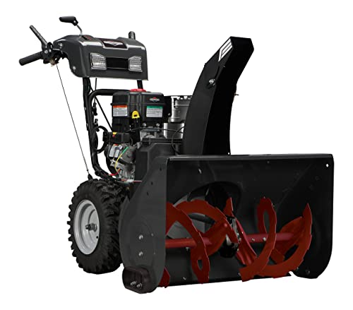 Briggs and Stratton 1696563 Dual-Stage Snow Thrower with 306cc Engine and Electric Start