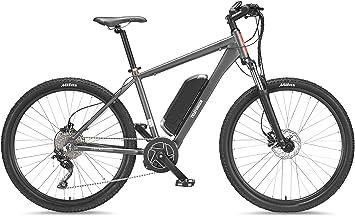 Telefunken bicicleta eléctrica de montaña de aluminio, gris, 10 ...