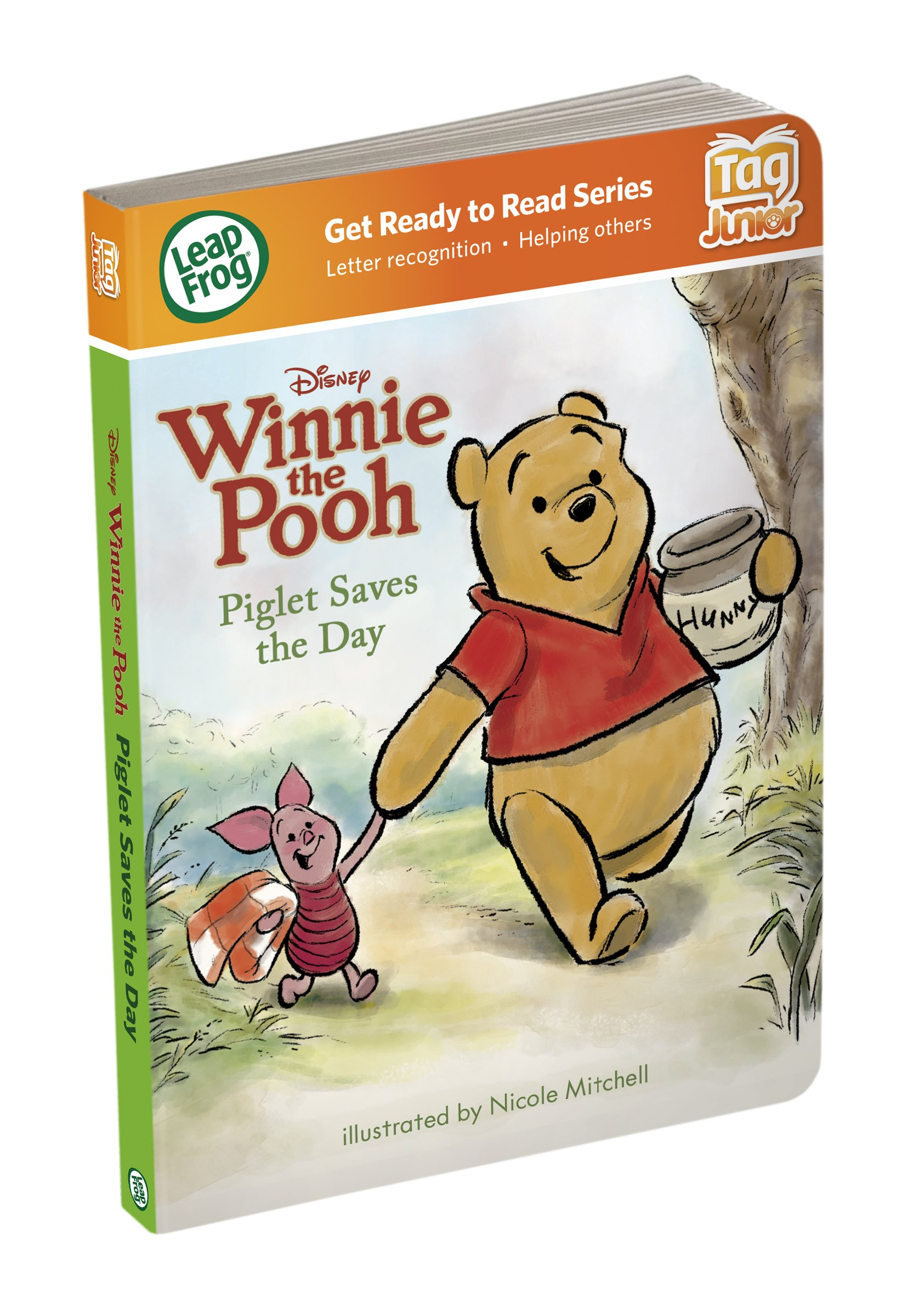 LeapFrog LeapReader Junior Book: Disney's Winnie the Pooh: Piglet Saves the Day (works with Tag Junior)