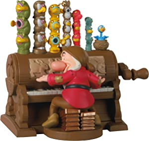 Hallmark Keepsake Christmas Ornament 2020, Disney Snow White and the Seven Dwarfs The Silly Song Grumpy at Organ, Musical With Motion
