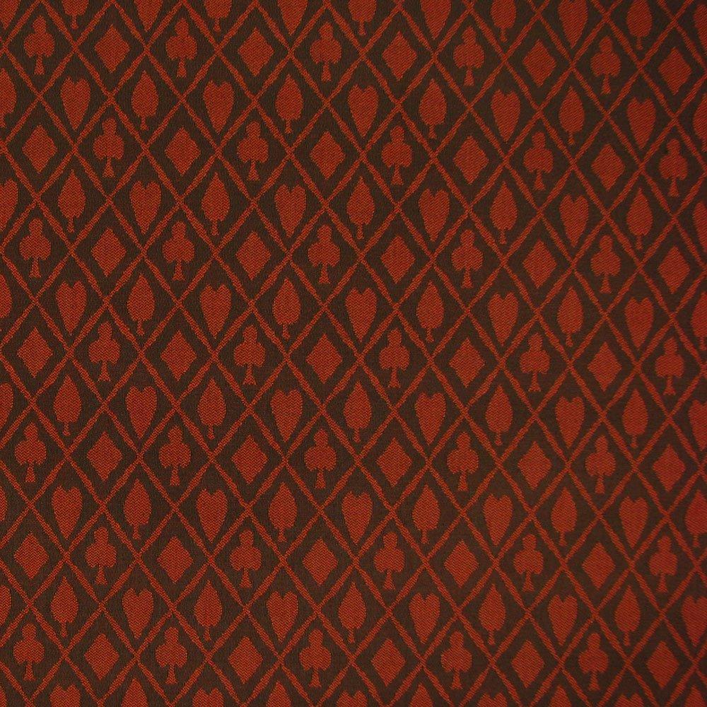 Trademark Poker Stalwart Suited Waterproof Table Cloth Burgundy