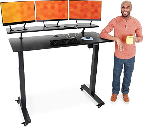 Stand Steady Tranzendesk Power | 55 Inch Electric Standing Desk - the best home office desk for the money