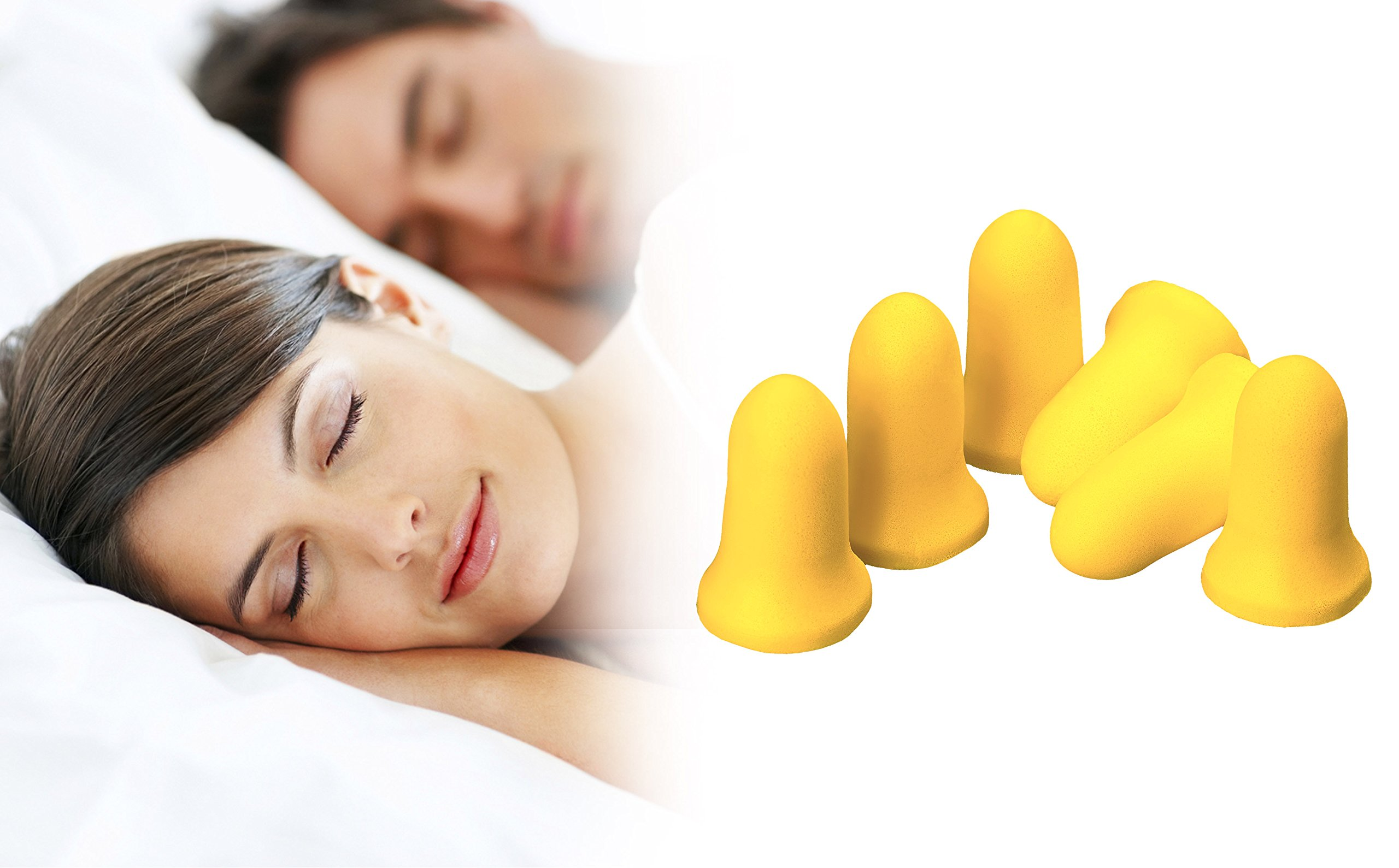 PQ Earplugs for Sleep - Comfortable & Reusable Ear Plugs for Side Sleepers - Sound Blocking Level 32 dB - Noise Cancelling for Snoring & Reusable Ear Plugs for Swimming & Traveling by Peace&Quiet (Image #2)