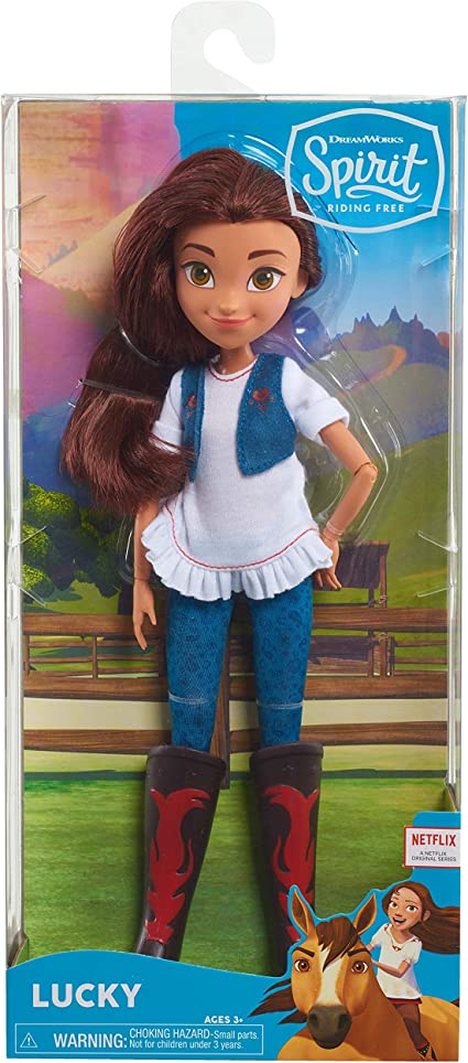 Lucky Spirit Riding Free Deluxe Fashion Doll