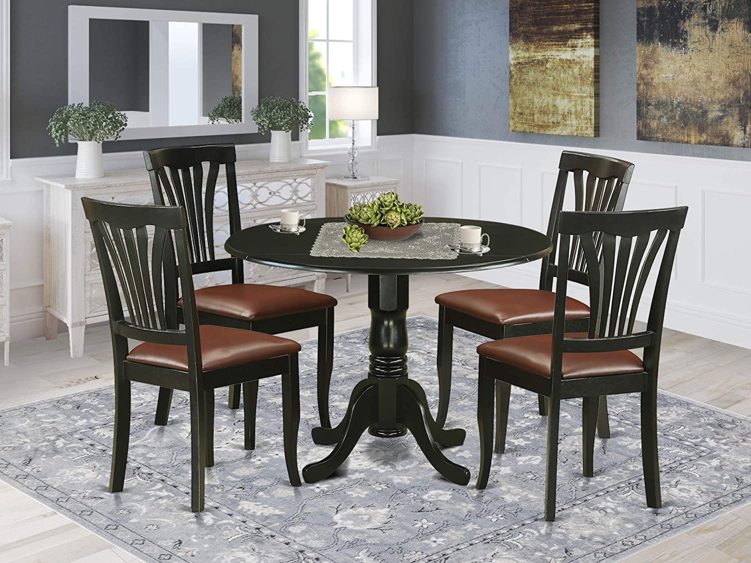 5 Pc Table set - Dinette Table and 4 dinette Chairs