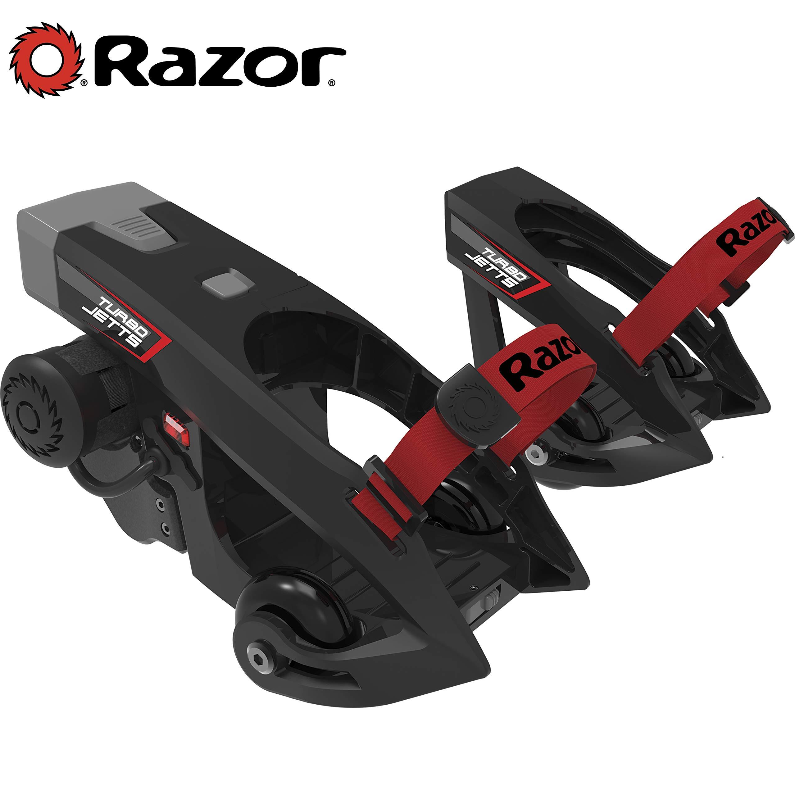 Razor Turbo Jetts Electric Heel Wheels - Red by Razor