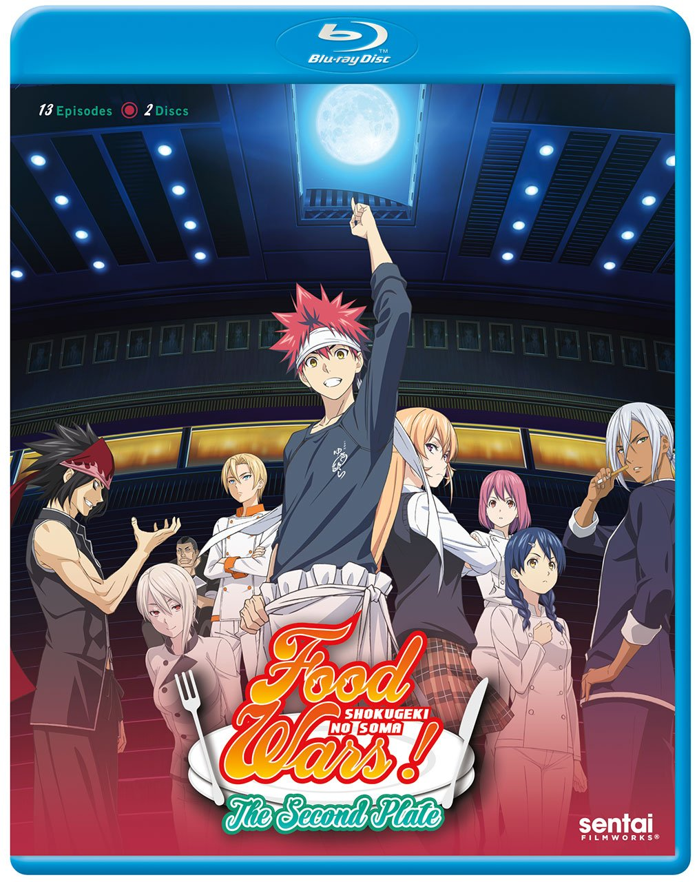 Food Wars! The Second Plate Blu-ray (Dual Audio)