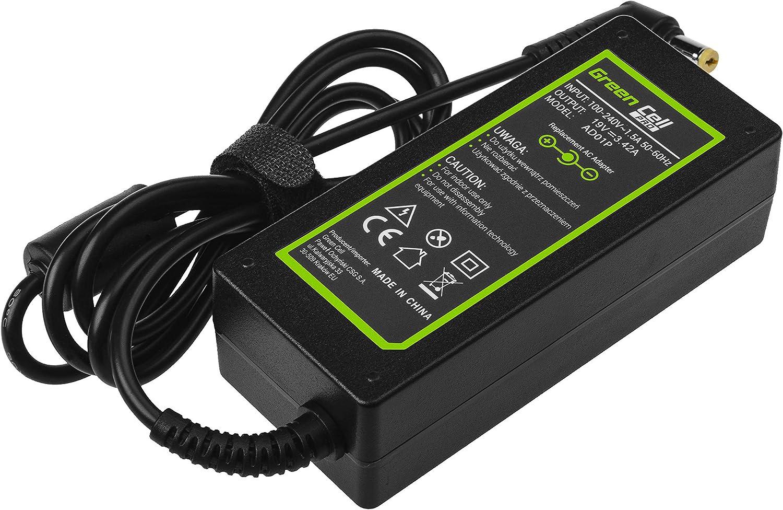 5.5 x 1.7 mm-Adaptador para Acer Aspire E1 E5 ES1 E15 ES15 Serie E1-522 E1-531 E1-570 E1-571 E1-572 E1-572G E5-521 E5-571 E5-573 E5-573G E5-575 E5-575G ES1-512 Lavolta 65W 45W Cargador PC Port/átil