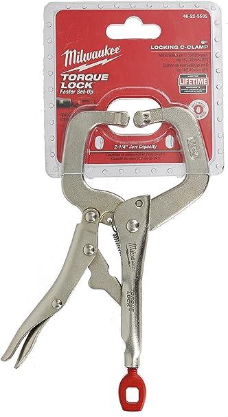 C-Clamp Torque Lock Locking Regular Jaws Steel LIFETIME WARRANTY 6 in