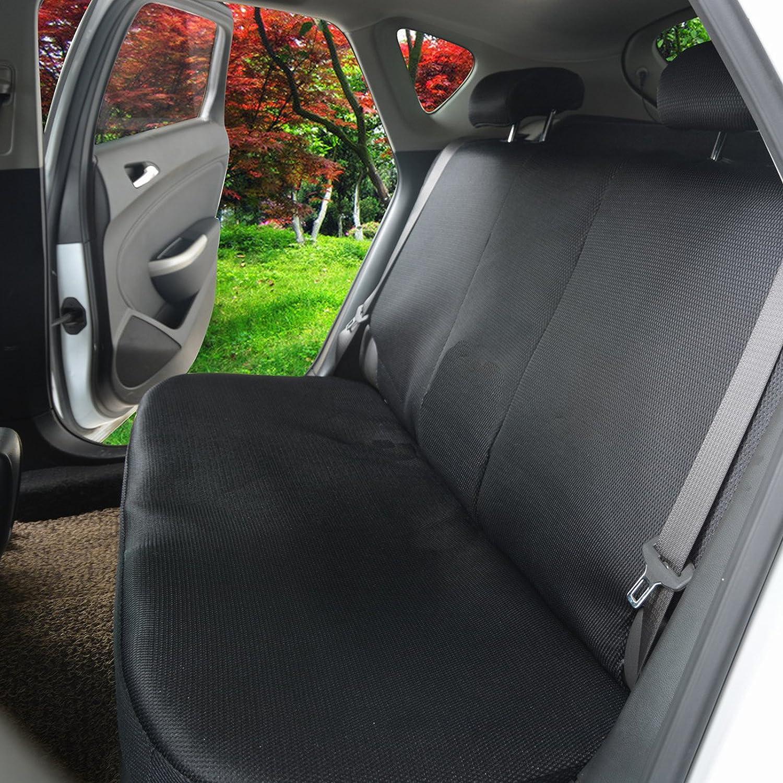WOLTU AS7290 Universal Schonbez/üge f/ür Auto Sitzbez/üge Sitzschoner Sitzbezug Auflage schwarz Kunstleder