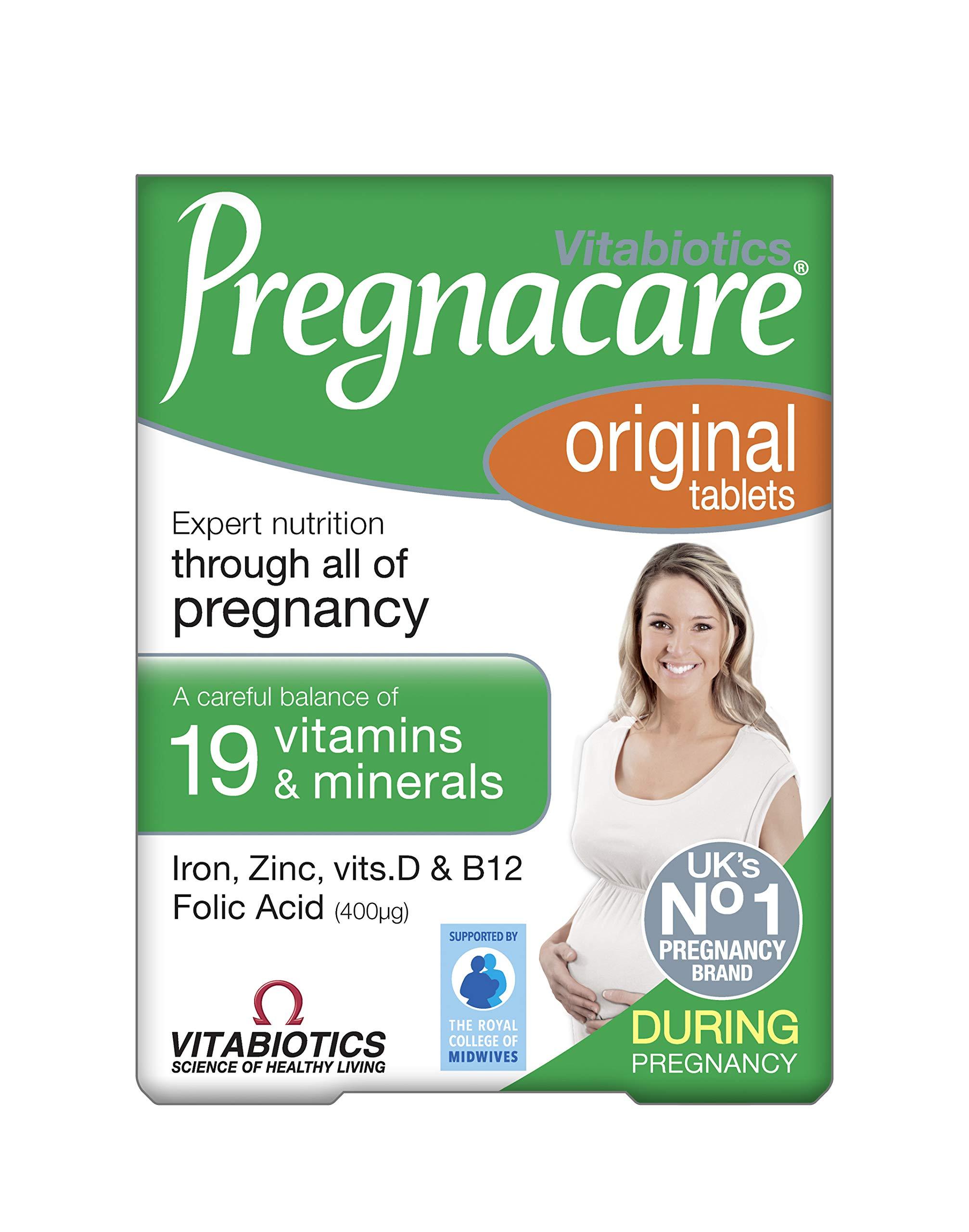 Vitabiotics - Pregnacare - Original - 30 Tablets